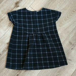 Zara girls sz 7 short dress/top .great cond
